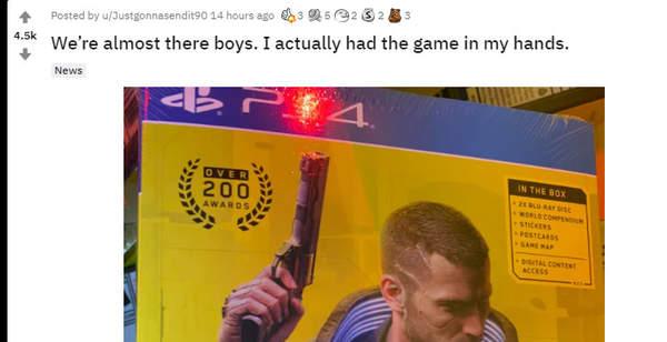 PS4版《赛博朋克2077》出现偷跑 游戏稳了谨防剧透