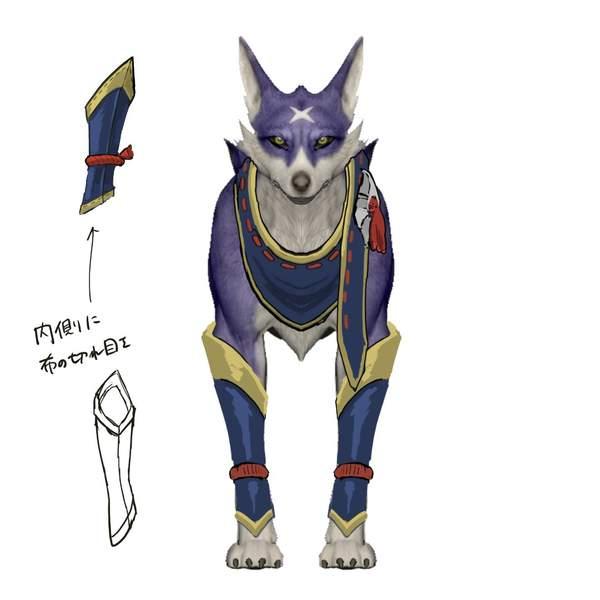 《怪猎:崛起》牙猎犬艺术概念图 革、布等装备细节更好展现