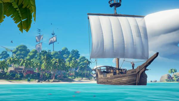 《盗贼之海》独特玩家数量超过千万 PC和Xbox平台各占一半