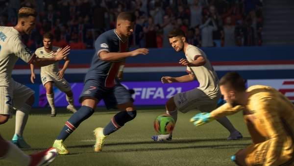 英国游戏周销榜:《FIFA21》夺冠,相比上周销量下降近40%