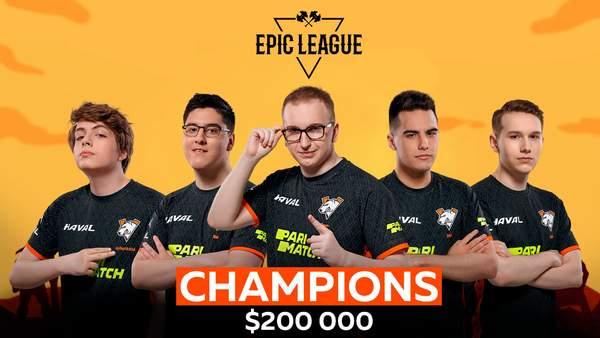 《DOTA2》Epic联赛落幕 VP战队以3:2战胜OG成功夺冠收获20万美金