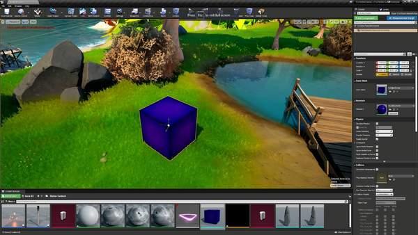 《堡垒之夜》创造模式将引入虚幻5引擎 只限PC平台