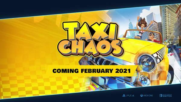 《混乱出租车》发售日公布 明年二月份多平台发售