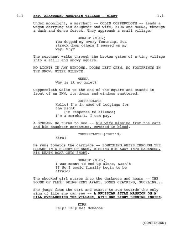 《巫师》美剧第二季剧本曝光:神秘新角色和怪物将登场 预计明年播出