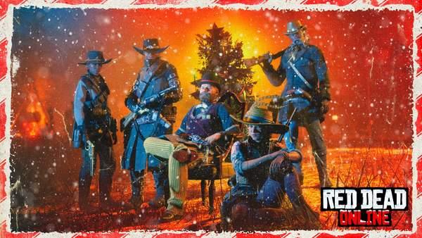 《荒野大镖客OL》圣诞活动上线 外套/步枪优惠券免费送