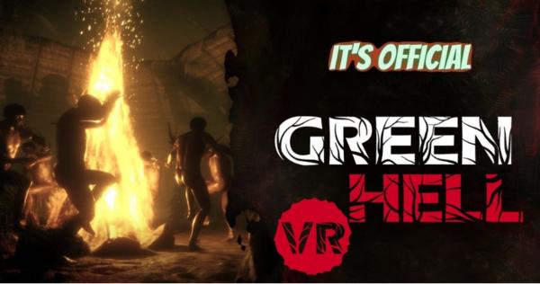 极度好评游戏《绿色地狱》将推出VR版本 预定明年第三季度登陆PC