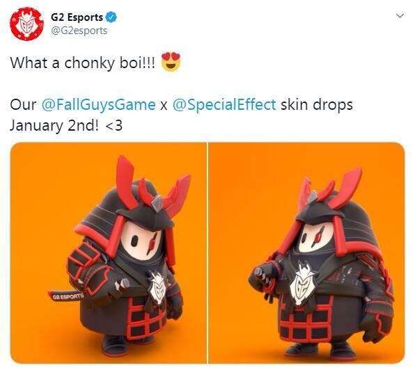 《糖豆人:终极淘汰赛》G2定制皮肤预览 1月2日上线