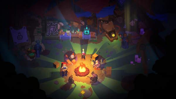 2D塞尔达式快节奏像素动作游戏《轮回深渊》确认1月15日发售