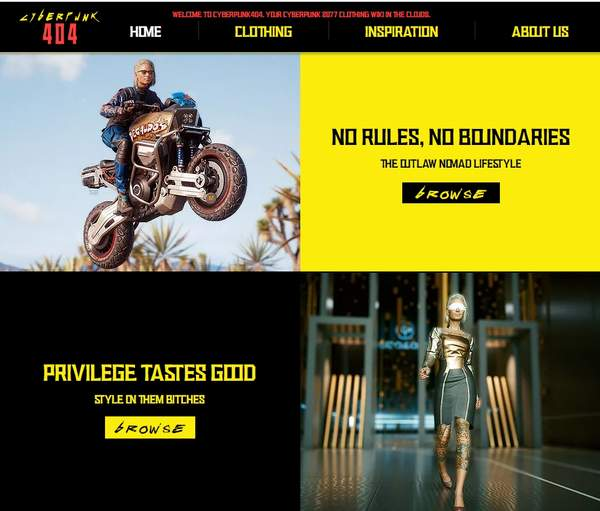 玩家制作《2077》服装预览网站 帮助大家买衣服看效果