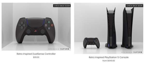 第三方厂商推出黑色复古风格PS5 将于1月8日开启预定