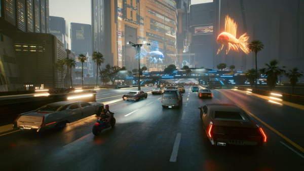 《赛博朋克2077》小地图缩放Mod 飙车终于不怕撞了