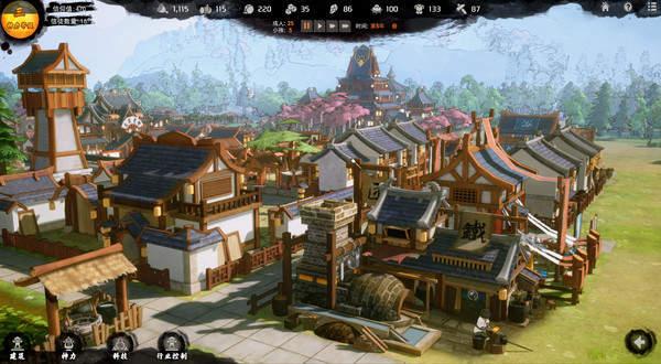 模拟经营《天神镇物语》登陆Steam 获取资源抵御妖兽入侵