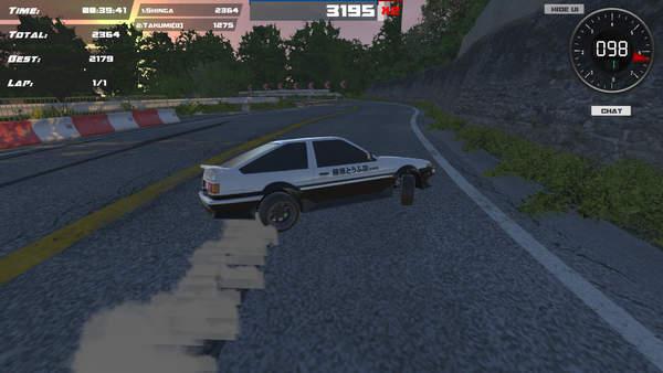竞速游戏《漂移86》Steam特惠促销价五元 游戏评价为特别好评