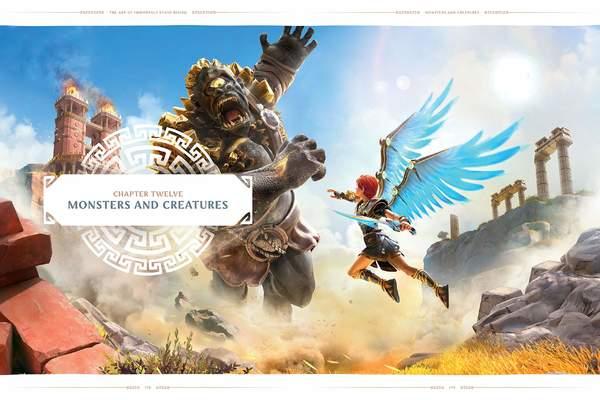 育碧将推出《渡神纪:芬尼斯崛起》画集 1月26日发售