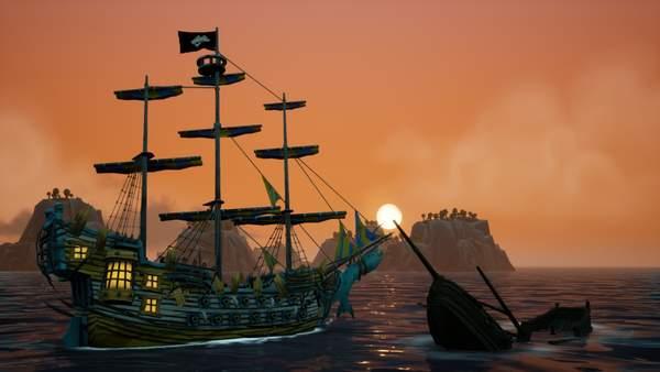 海盗RPG游戏《海洋之王》2月18日推出 登录Steam、PS4等多平台