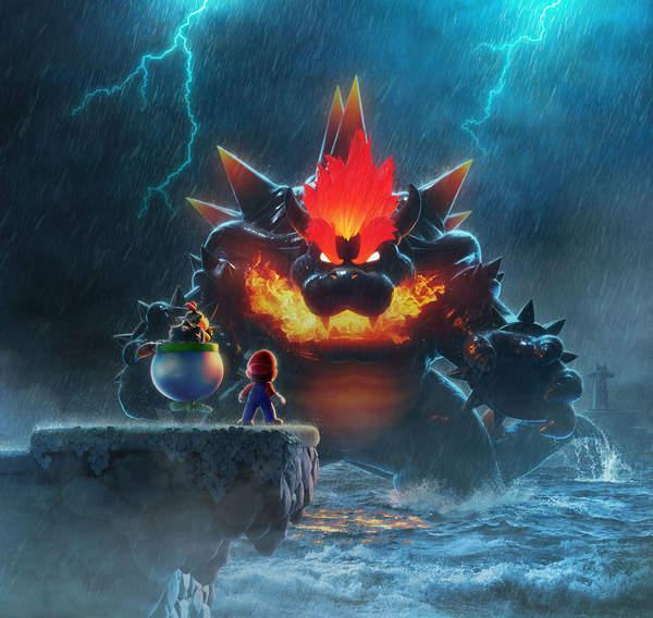 NS《超级马里奥 3D世界》公布游戏介绍短片 迎战狂怒库巴王