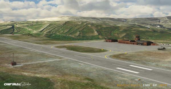 《微软飞行模拟》机场截图 瑞典斯德哥尔摩斯卡夫斯塔机场细节公布