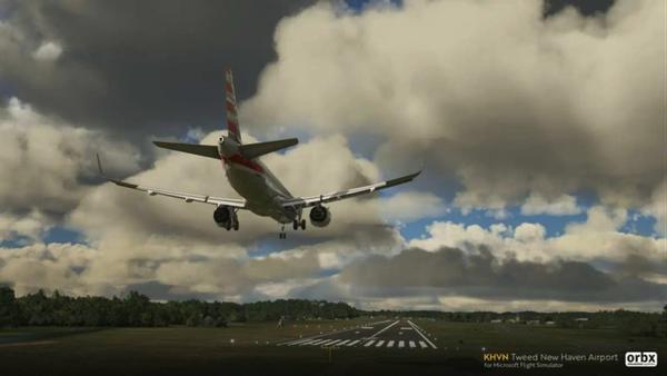 《微软飞行模拟》新附加包截图公布 纽黑文机场售价14美元