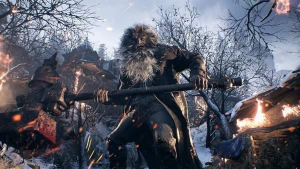 """《生化危机8》新游戏画面截图 包括被玩家""""玩坏""""的""""吸血鬼夫人""""德米特雷斯库"""
