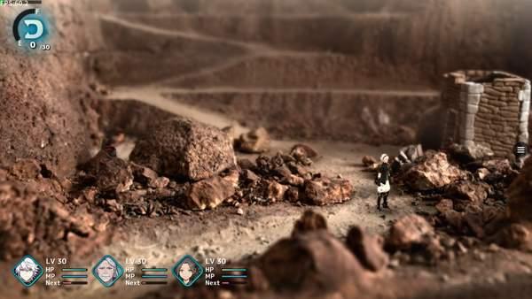 坂口博信《FANTASIAN》截图 独一无二游戏实景手工搭建模型首曝