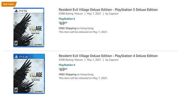 零售商开启《生化危机8》实体版预购 游戏将于5月7日正式发售