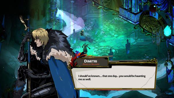 饭制《哈迪斯》X《火焰纹章》艺术图 两款游戏完美结合