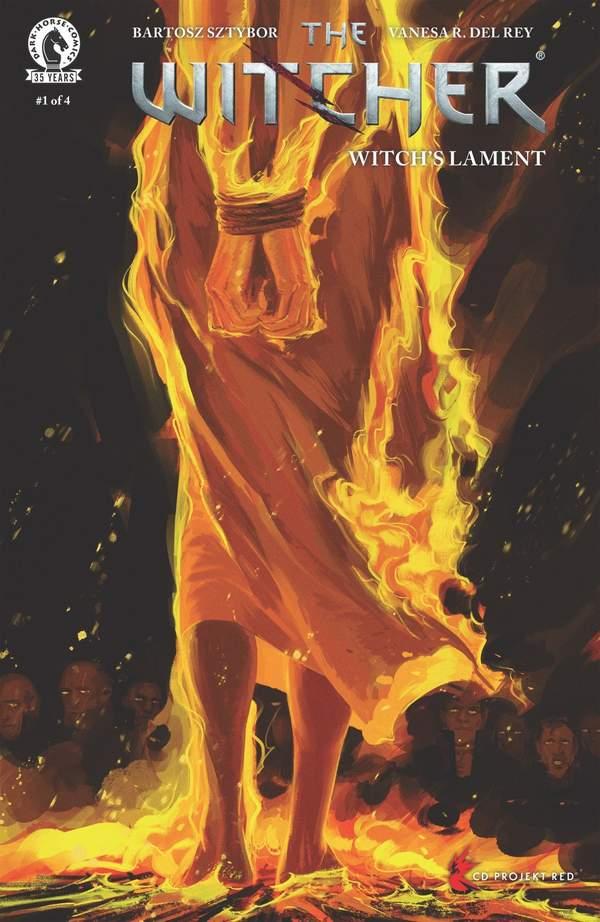 巫师全新漫画《巫师:女巫的挽歌》公布 第一期将于5月26日发行