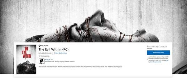 生存恐怖《恶灵附身》本体及全DLC将于3月12日加入XGP 疑续作开发中