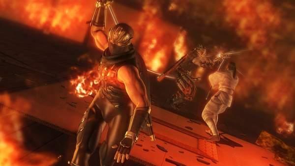 《忍者龙剑传:大师合集》大量截图 龙哥拦腰斩杀敌人