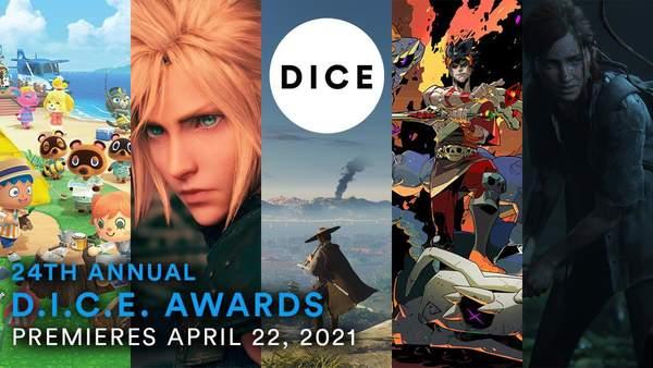 第24届DICE游戏大奖4月22日举办 美末2以11项提名获得领先